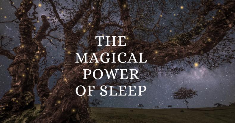 The Magical Power of Sleep