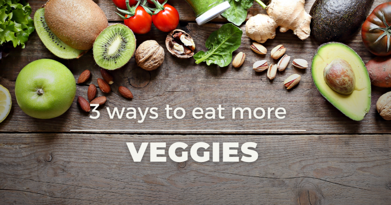 Add more Veggies to your diet with Teresa Rieland!